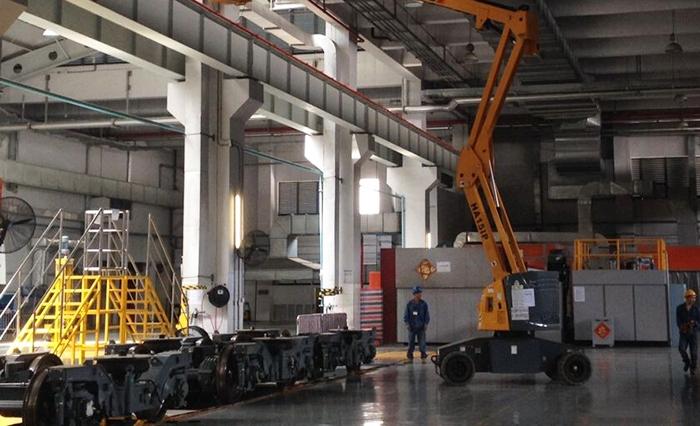 深圳市东维丰电子科技股份公司箱式变电站安装